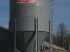 chicken house grain bin
